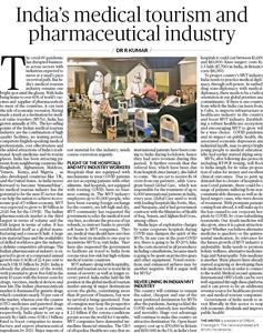 India's medical tourism and pharmaceutical industry